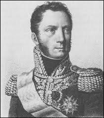 Né dans la commune de Caulaincourt (Aisne) en 1773, diplomate et aide de camp de Napoléon 1er, ce dernier me nomme Général de brigade en août 1803 puis duc de Vicence (Italie) en 1808. Fidèle parmi les fidèles, devant accompagner l'empereur dans son 2ème exil, mais je suis retenu par le tsar Alexandre Ier qui s'y oppose. Je décède à Paris en 1827 et je suis enterré dans la division n°28, je suis :
