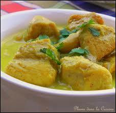 D'où vient le poulet au curry ?