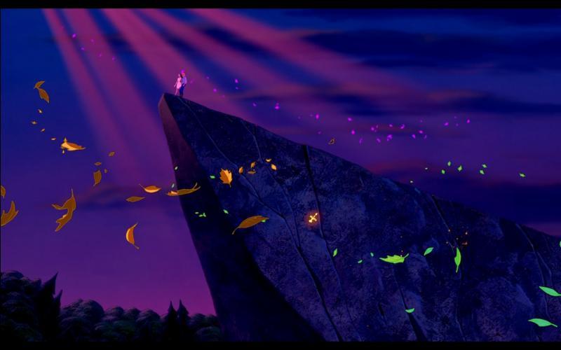 Le morceau musical central du film reste et restera  L'Air du vent . Quelle est la suite du vers suivant :  Tu crois que la Terre t'appartient toute entière ...   ?