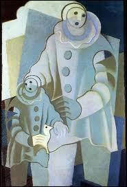 Qui a peint Les deux Pierrots ?