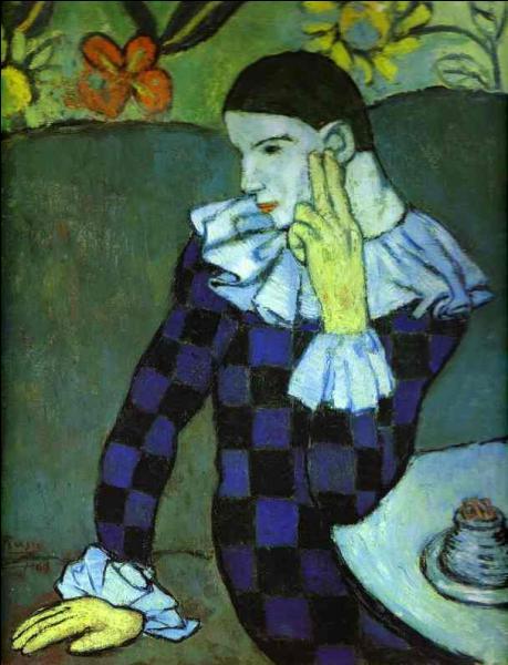 Qui a peint Arlequin ?