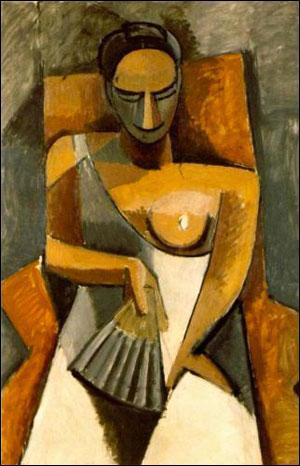 Qui a peint Femme à l'éventail ?