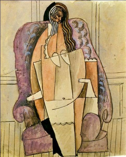 Qui a peint Femme en chemise dans un fauteuil ?