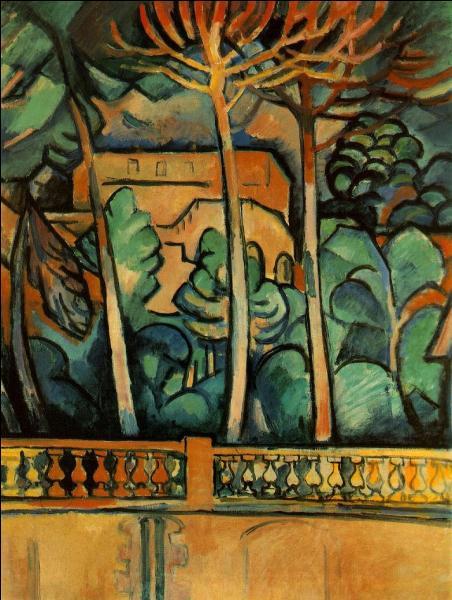 Qui a peint Terrasse de l'hôtel Mistral ?