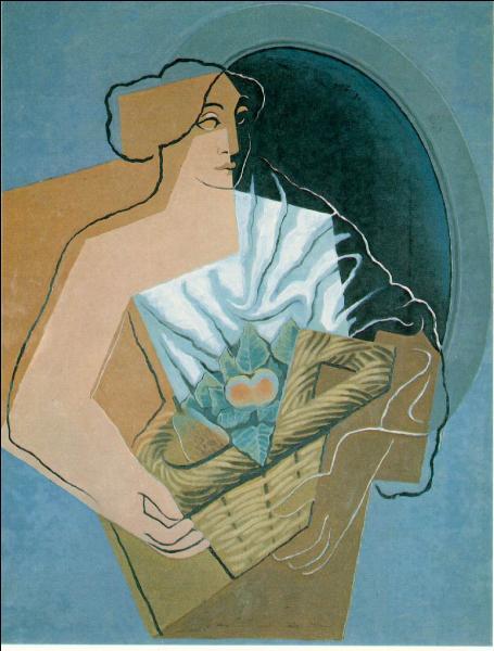 Qui a peint Femme avec un panier ?