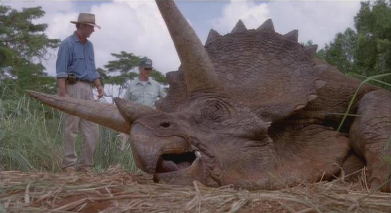 Quel dinosaure est allongé ?