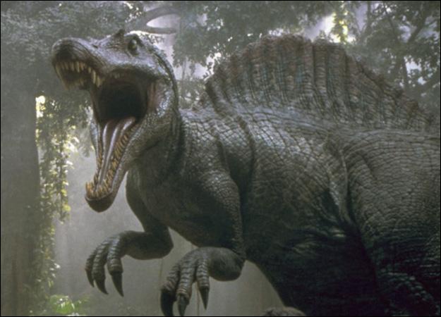 Comment s'appelle ce dinosaure avec cette crête sur le dos ?