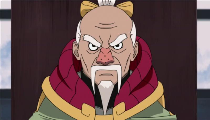 Quel est le prénom du Tsuchikage présent ?