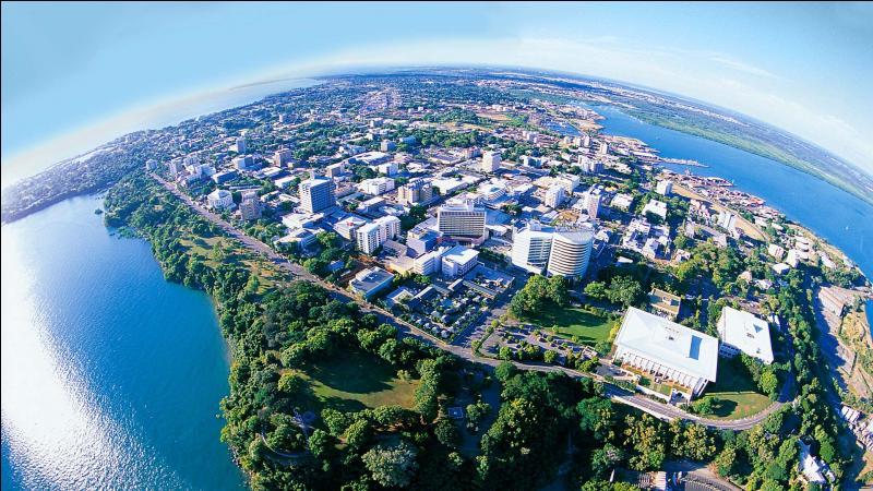 La ville de Darwin se trouve-t-elle dans le sud ou dans le nord de l'Australie ?