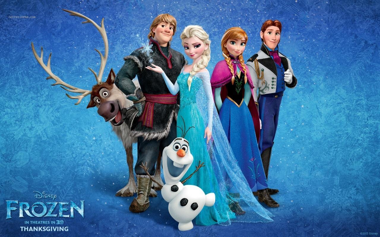 la reine des neiges les personnages