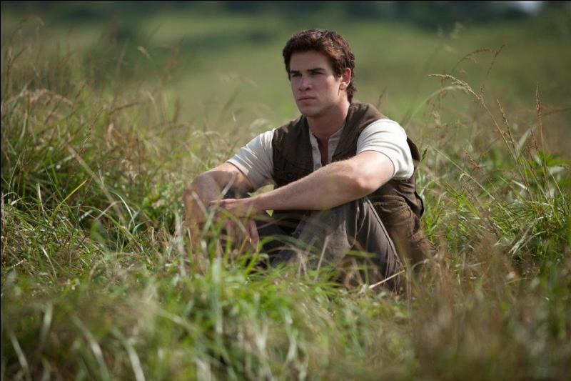 C'est un bon ami de Katniss qui n'a pas participé au Hunger Games. C'est...