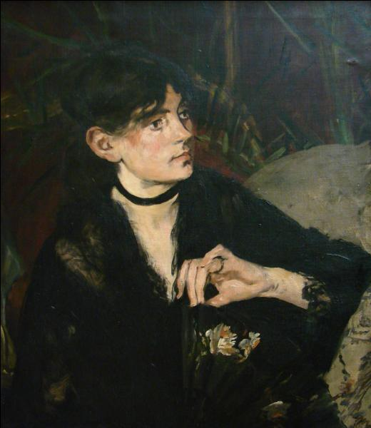 Qui a peint Berthe Morisot à l'éventail ?