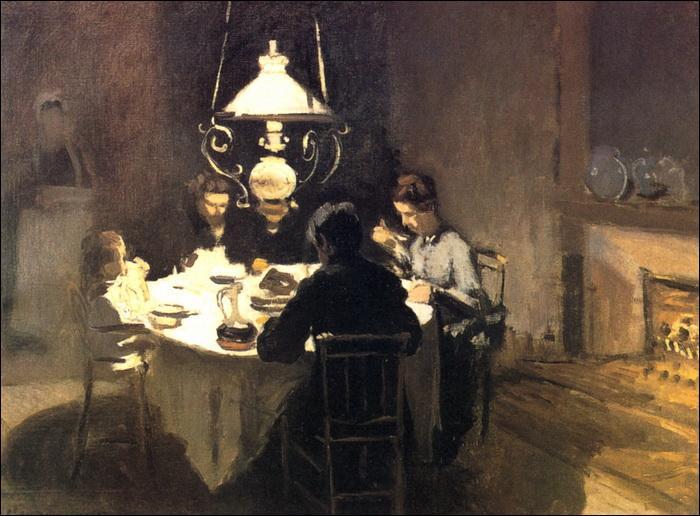 Qui a peint ce déjeuner chez les Sisley ?