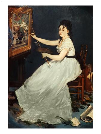 Qui a peint Eva Gonzales au piano ?