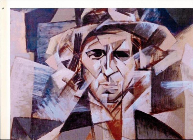 Qui a représenté, ici, Modigliani ?