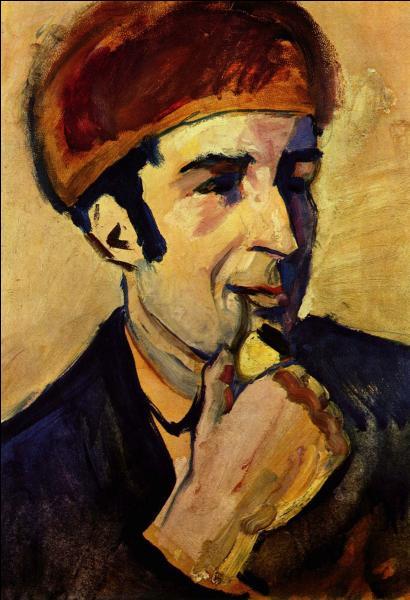 Qui a effectué ce portrait de Franz Marc ?