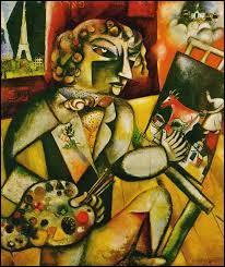 Qui a peint ce portrait de Marc Chagall ?