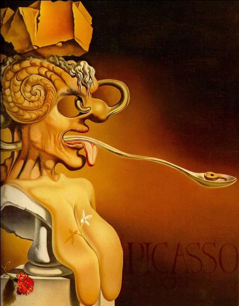 Qui a représenté Picasso sur cette toile ?
