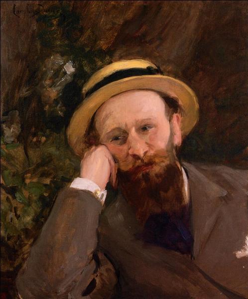 Qui a peint ce portrait d'Edouard Manet ?