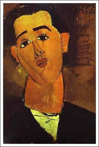 Qui a peint ce portrait de Juan Gris ?