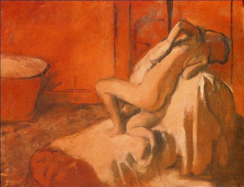 Qui a peint Suzanne Valadon après le bain ?