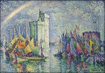 Arc-en-ciel, La Rochelle, le port.
