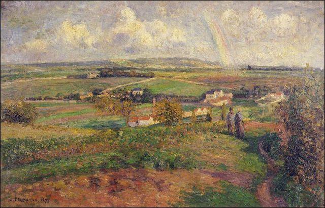 L'arc-en-ciel ou la plaine d'Epluches.