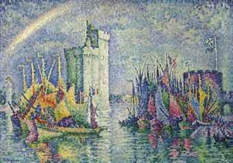 L'arc-en-ciel en peinture