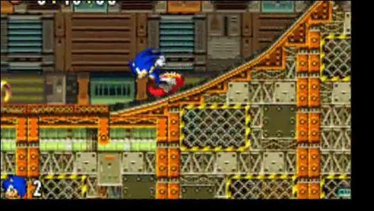 Quelle est cette zone issue de Sonic Advance ?