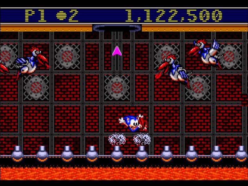 Quel est ce niveau issu de Sonic Spinball ?