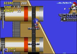 Quelle est cette zone issue de Sonic 2 ?