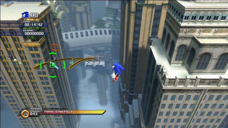 Quel est ce niveau issu de Sonic Unleashed ?