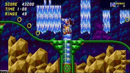 Quelle est cette zone issue de Sonic And Knuckles ?