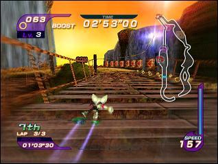 Quel est ce circuit issu de Sonic Riders ?