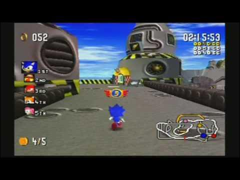 Quel est ce circuit issu de Sonic R ?