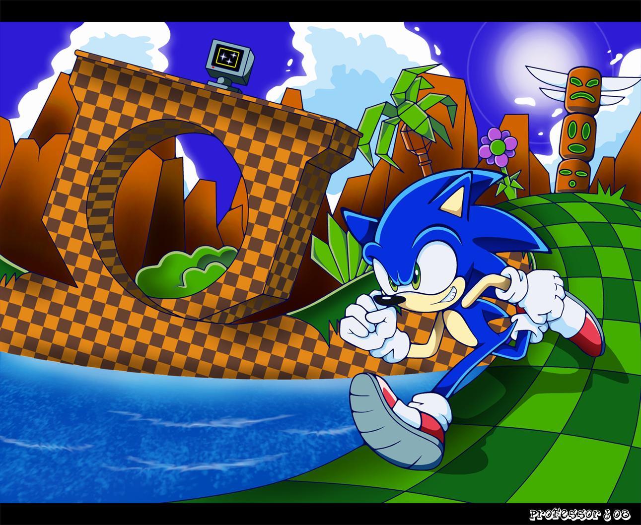 Les zones et stages des jeux Sonic