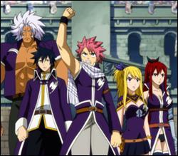 De quels membres est composée l'équipe A de Fairy Tail ?