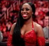 Quel est le vrai nom de la catcheuse Naomie ?
