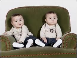 Quels beaux jumeaux, ce sont :