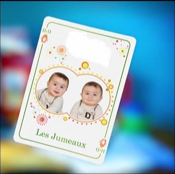 Les parents de ses deux jumeaux sont ___ et ___ ( Compléter ).