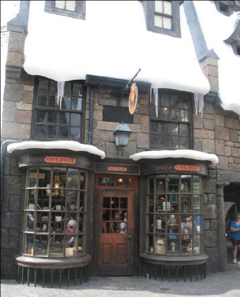 Pré-au-Lard possède également une poste où il est possible d'envoyer des messages par hibou. D'ailleurs, à ce propos, comment s'appelle la chouette de Harry Potter ?