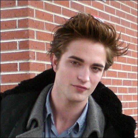 Quel rôle joue Robert Pattison dans Twilight ?