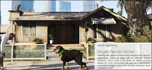 Lequel des personnages vivait dans une petite maison à Los Santos avec sa tante ?