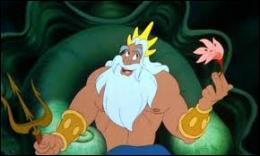 Dans quel film le roi Triton gouverne-t-il son monde sous-marin ?