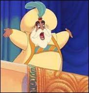 Dans quel film voit-on le sultan d'Agrabah ?