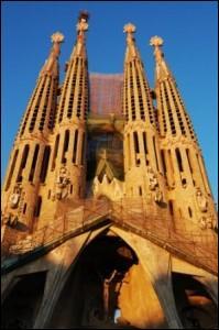 Où trouve-t-on la Sagrada Família ?