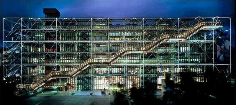 1er janvier 2000 : réouverture d'un centre national d'art et de culture à Paris, après 27 mois de fermeture pour travaux de rénovation. Lequel ?