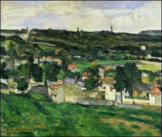 1er janvier 2000 : vol du tableau  Vue d'Auvers-sur-Oise  au musée d'Oxford, en Grande-Bretagne ! Qui a peint ce tableau ?