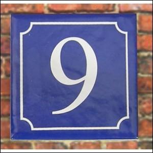Un artisan doit réaliser 100 plaques de rue numérotées de 1 à 100. Combien de fois devra-t-il inscrire le chiffre 9 ?