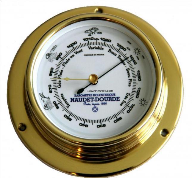 Que mesure un baromètre ?